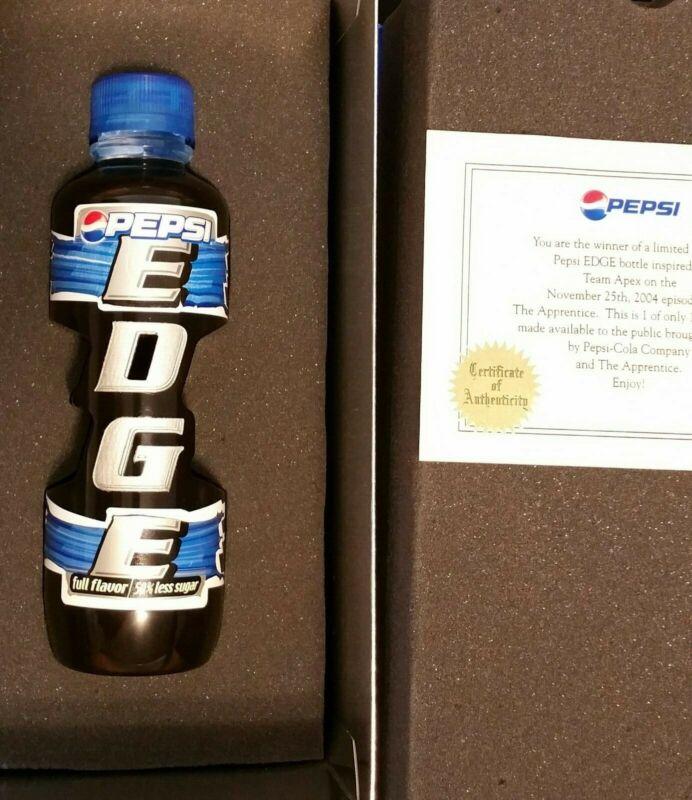 Donald Trump RARE Apprentice Pepsi Edge Contest Acrylic 1 Of 100