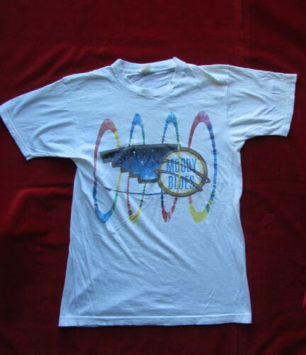 Moody Blues 1986 Other Side Of Life Concert Faded Tshirt Size M Screen Stars