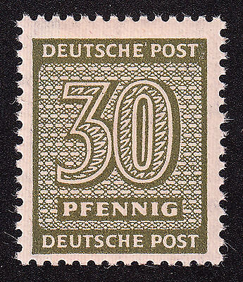 SBZ Mi.Nr. 135 X wa postfrisch geprüft BPP Mi.Wert 220€ (1553)