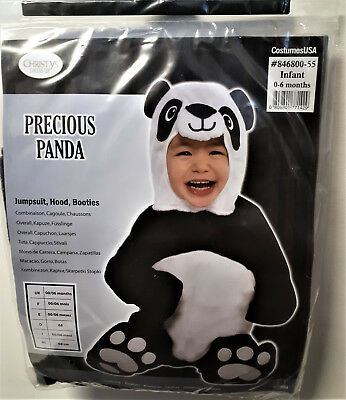 Baby Kostüm Precious Panda Bär  Karneval Halloween 68  0-6 -