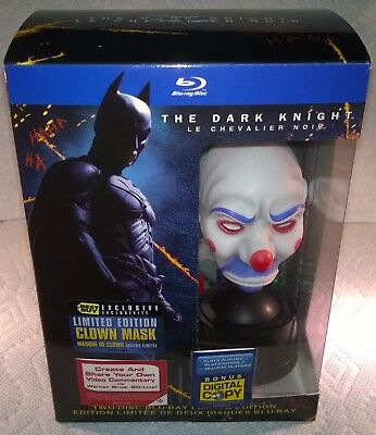 Batman: The Dark Knight (2008, Kanada) Best Buy Exclusive mit Clown Mask Neu