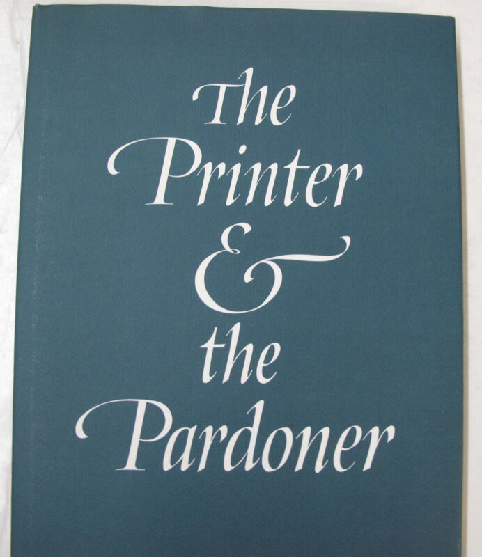 Incunabula Printer Pardoner William Caxton Medieval Printing Hospital Illus 1986