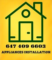 Appliances Complete Setup and and Installations
