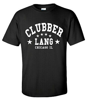 ovie Boxing Inspired Gym Training Mens black T-Shirt … (Clubber Lang)