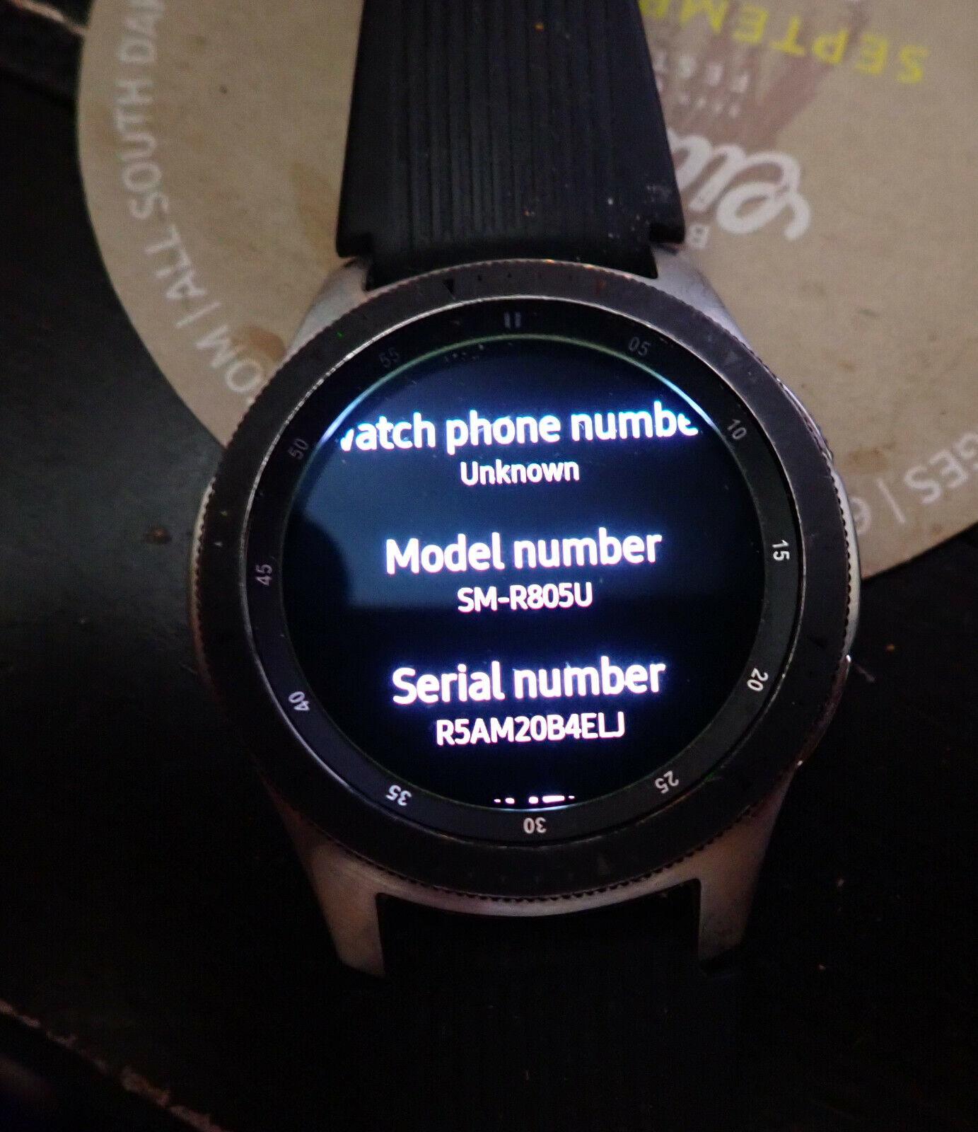 galaxy watch sm r805u 46mm silver case