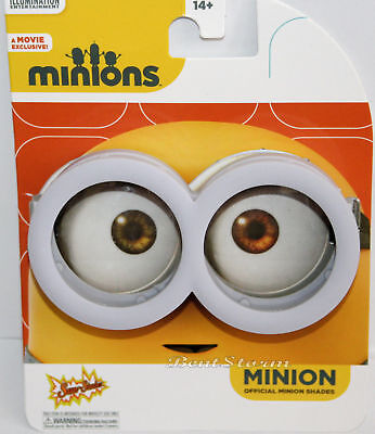 DESPICABLE ME Movie Exclusive Minions Costume Goggles - Official Minion Shades