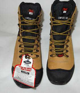 Mack Heeler Work boots BNIB Steel Toe Safety Mens, Size 9 Forest Lake Brisbane South West Preview