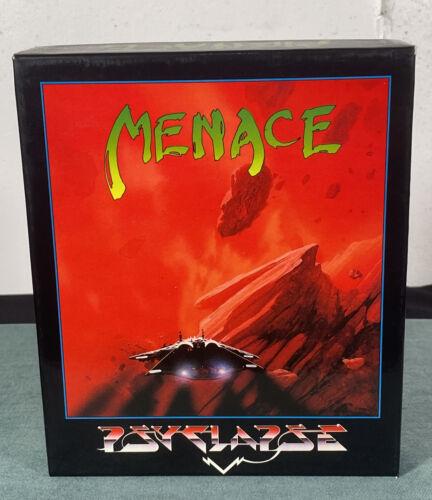 Computer Games - Commodore Amiga Menace PC Computer Video Game w/ Box