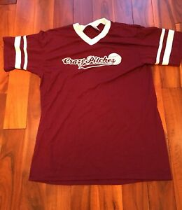 Crazy Pitches Baseball Softball Jersey