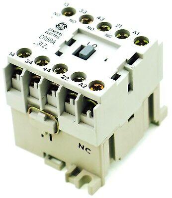 Ge Miniature Din Rail Magnetic Contactor Cr6ra31zb 220v Ac Coil Ca4-9c-01-220d