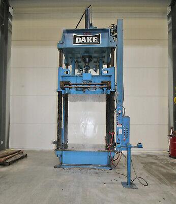 14361 Dake 75 Ton Four Post Spotting Press Model 15-659