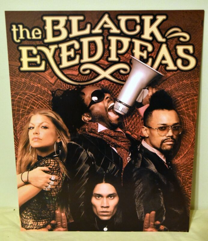 The Black Eyed Peas 16x20 Fergie apl.de.app Taboo will.i.am Poster