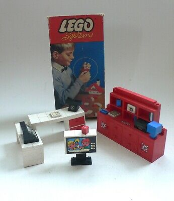 Vintage 1960's 70's LEGO System Set Lot Box & Shop Display items