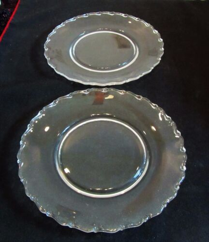 """2 Fostoria Century Luncheon Plates 8 1/2"""""""