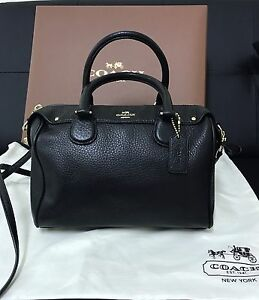Brand New without tags Coach Leather Bennett Satchel Black F36677 Maroubra Eastern Suburbs Preview