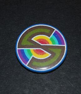 Captain Scarlet Button Badge