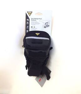 TOPEAK BICYCLE MEDIUM AERO WEDGE SEAT SADDLE BAG STRAPS
