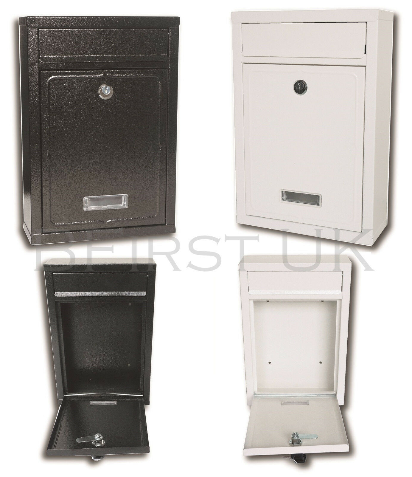 Water Proof Wall Mounted Mail Letter Post Box Mailbox