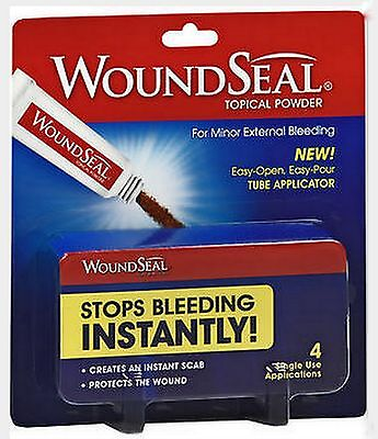 Stop Bleeding Instantly Woundseal Wound Seal 4 Tubes   1 Package