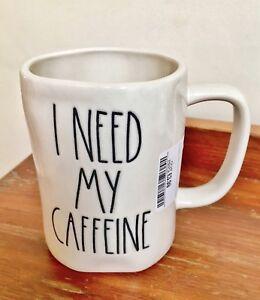 ⭐️RAE DUNN I NEED MY CAFFEINE MUG⭐️ (Exclusive to the UK)