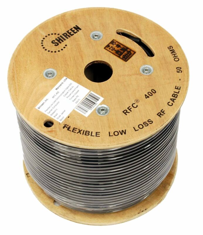 Low Loss 400 Coax 500