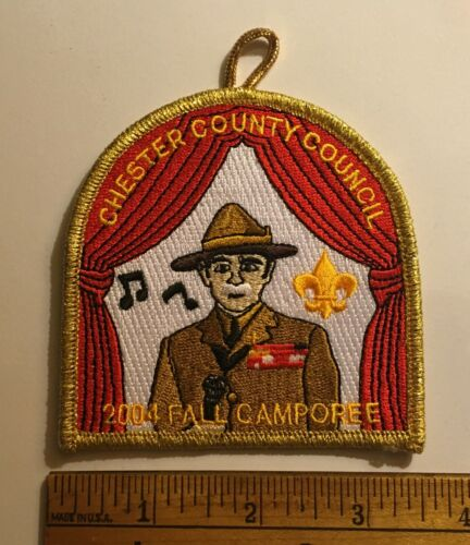 Chester County Council Fall Camporee Staff 2004 Patch New