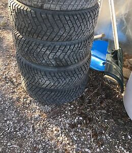 205/70/14 Winter Tires with Spikes