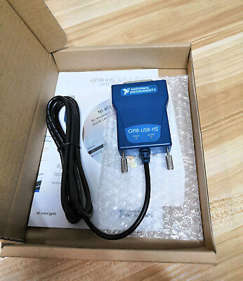 New National Instruments Gpib-usb-hs Interface Adapter Controller Ieee 488