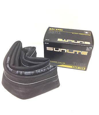 """Sunlite Standard Schrader Valve Tubes, 14 x 2.125"""" / 32mm Va"""