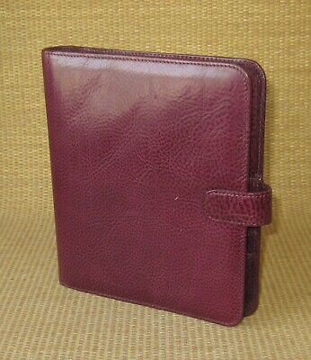 Classiccompact Franklin Covey Uniquesample Planner .75 Leather Open Binder