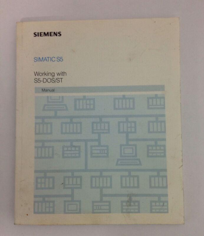 SIEMENS *  MANUAL * SIMATIC S5