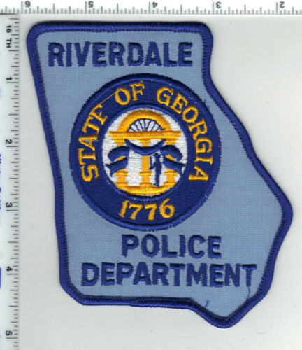 Riverdale Police (Georgia) 3rd Issue Shoulder Patch