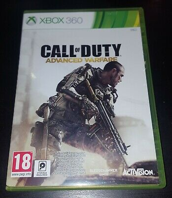 Call of Duty Advanced Warfare Microsoft Xbox 360 Game, VGC