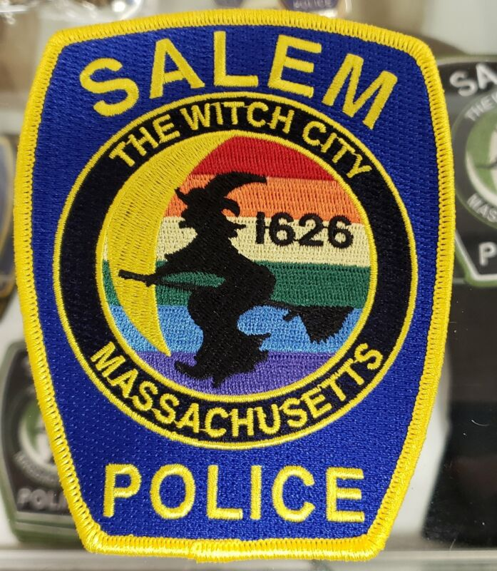SALEM POLICE PRIDE PATCH