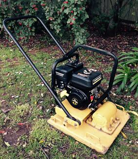 HIRE COMPACTOR/VIBRATOR/WACKER PLATE 6.5HP MID SIZE PLATE Adelaide Region Preview