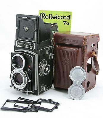 Rollei Rolleicord Va vintage 6x6 twin lens camera, lens Schneider Xenar 1:3.5/75