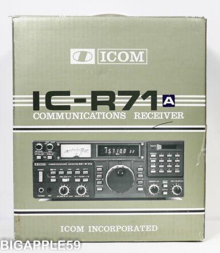 Icom IC-R71A Receiver Shortwave AM SSB CW Radio CLASSIC FAVORITE 2  XTRA FILTERS