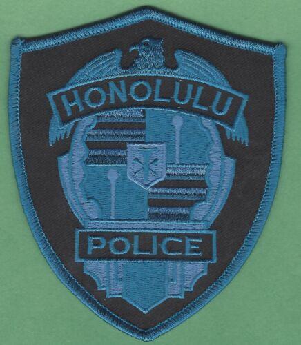 HONOLULU HAWAII POLICE SHOULDER PATCH TACTICAL BLUE