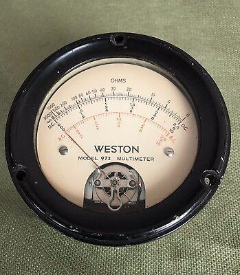 Vintage Weston Model 972 Multimeter