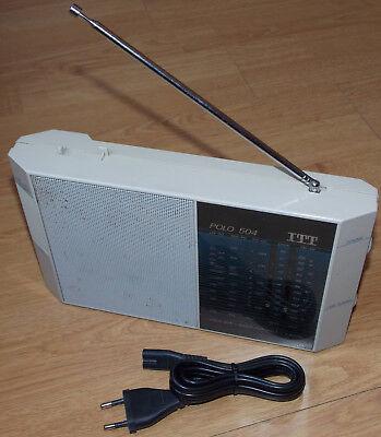 ITT Polo 504 5510 83 40 Superhet Lw Am Sw Fm Radio Batería Funcionamiento de Red segunda mano  Embacar hacia Spain