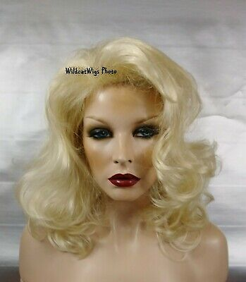 TAWNY from wig America .. The Most SEXY Wig EVER!  Pale Blonde  Great for DRAG !