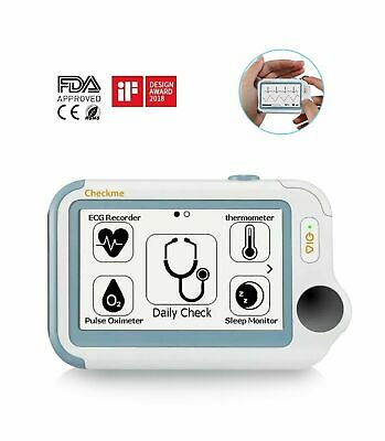 Ecg Ekg Thermometer Pulse Oximeter Apnea Vital Signs Monitor