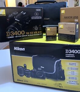 Nikon D3400 DSLR (open box)