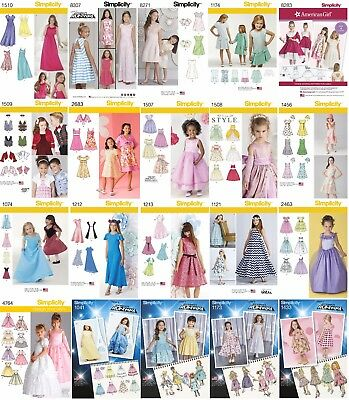 Special Occassion Dresses For Girls (Simplicity Sewing Patterns Girls' Toddler's Formal Special Occassion Dresses)
