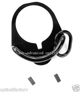Sling Attachment Point Plate Mount Ambidextrous GBB for Magpul MS2 buffer tube
