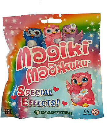DeAgostini Magiki Eulen Owlettes 1 Booster Tüte  Neu & OVP