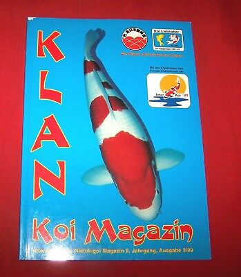 Klan Koi Magazin 1999 Nr  3 ,  8. Jahrgang , Internationales Nishikigoi Magazin