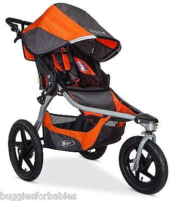 BOB 2016 Revolution Flex Jogging Stroller - Canyon Orange -