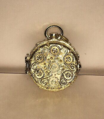 Gold Toned Old Pocketwatch Casing (NO WATCH)
