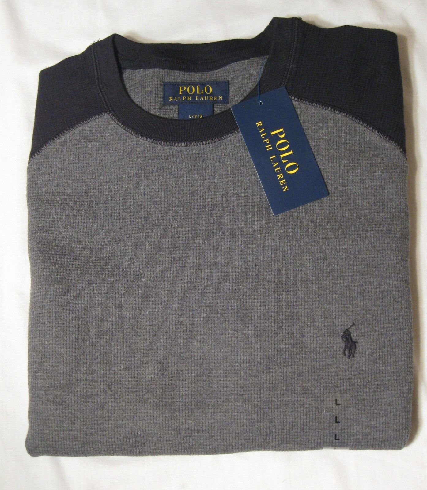 Chase Edward Italian Merino Wool Black Sweater,$185 men's Large